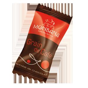 Grains de café au chocolat <br>(pochon de 25 unités)