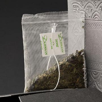 Thé Vert à la Menthe <br> 50 sachets